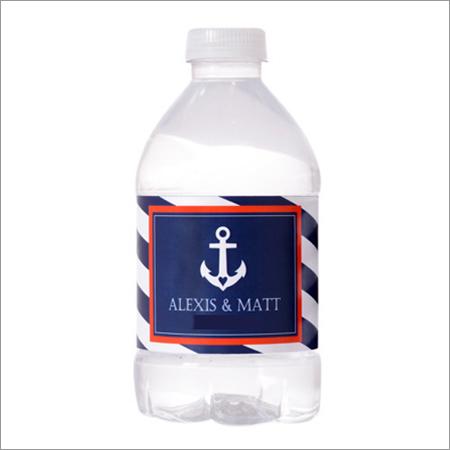 Plastic Bottle Label