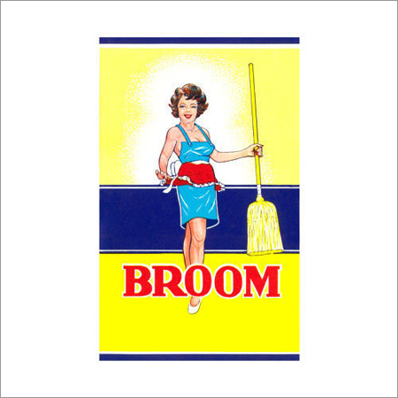 Broom Shrink Label