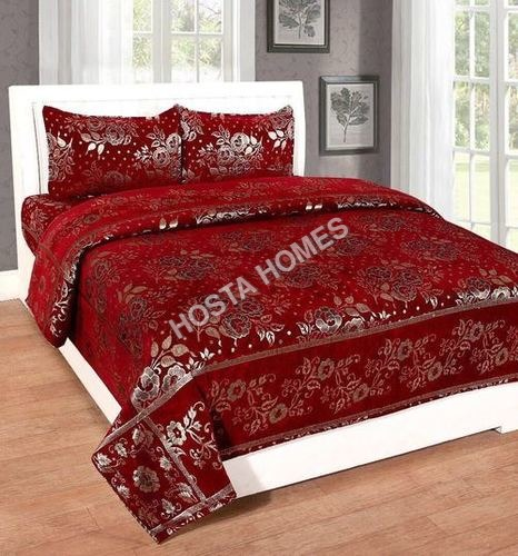 Chenille Bed Sheet King Size Double Bed Sheet