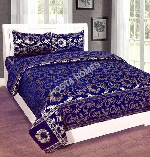 Chenille Double Bed Sheet Latest Design