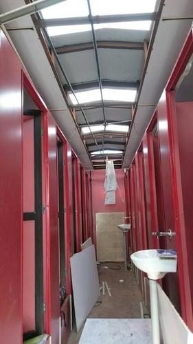 Gl Portable Toilet Block