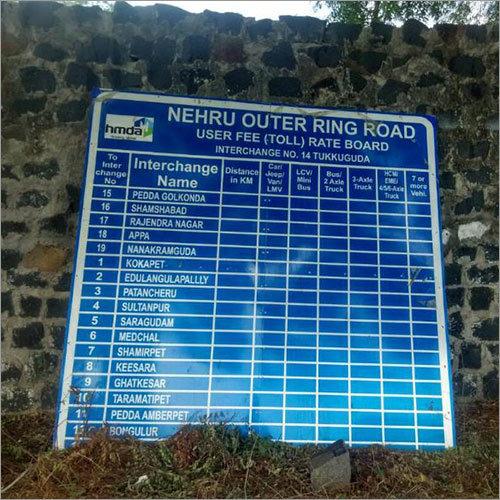 Highway Signage Board