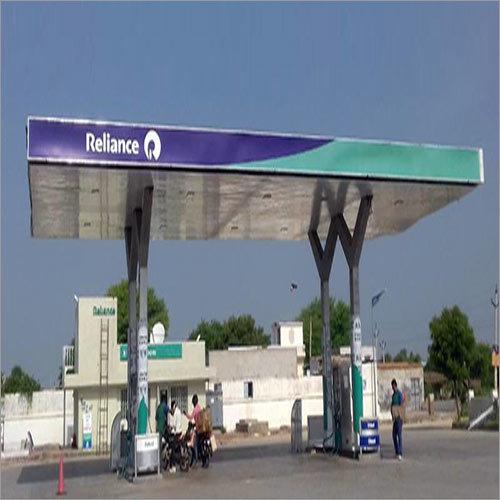 Petrol Pump shed