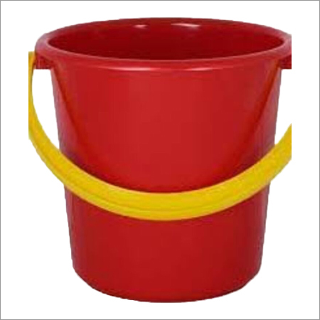 Plastic Red Buckets