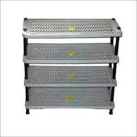 4 Tier Plastic Shoe Rack