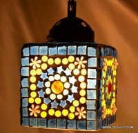 LUSTER GLASS HANGING HANGING,MOSAIC GLASS HANGING,DECORATIVE RESIDENTIAL