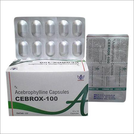Cebrox-100 Acebrophylline Capsules