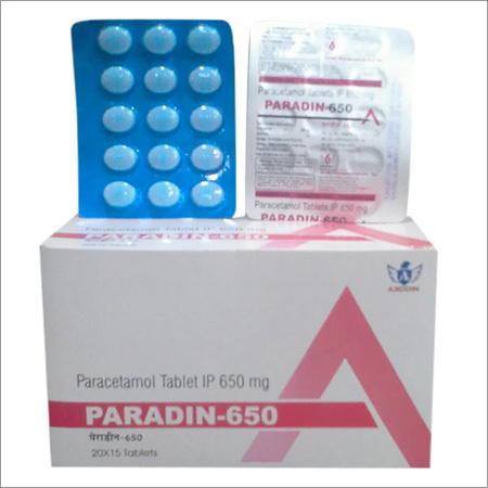 Paracetamol Tablets Ip 650 Mg