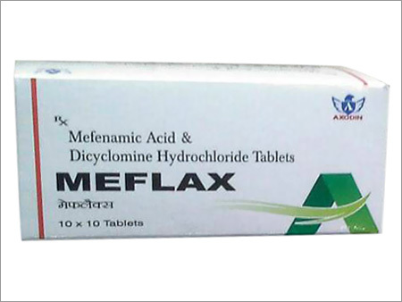 Mefenamic Acid Dicyclomine Hydrochloride Tablets