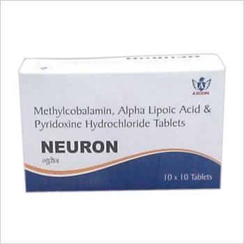 Methylcobalamin Alpha Lipoic Acid Pyridoxine Hydrochloride Tablets