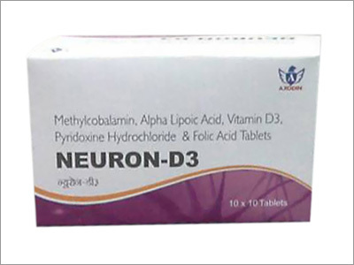 Methylcobalamin Alpha Lipoic Acid Vitamin D3 Pyridoxine Hydrochloride And Folic Acid Tablets