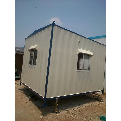 Mild Steel Portable Weighbridge Cabin