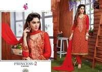 Princess 2 Cotton Embroidery Work Salwar Suits