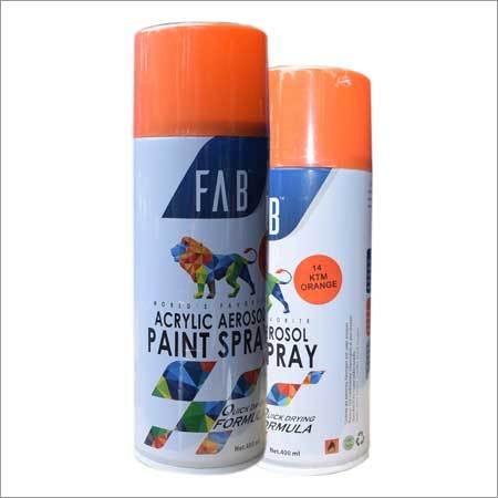 14 Ktm Orange Acrylic Aerosol Paint Spray