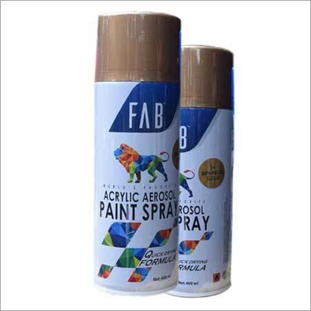 34 Sparkle Gold Acrylic Aerosol Paint Spray