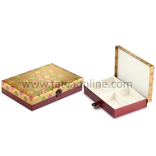 Dry Fruit & Mithai Box