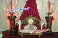 Royal Indian Wedding Sofa