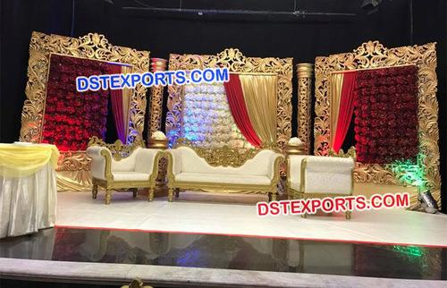 Beautiful Wedding Panel Furniture Set