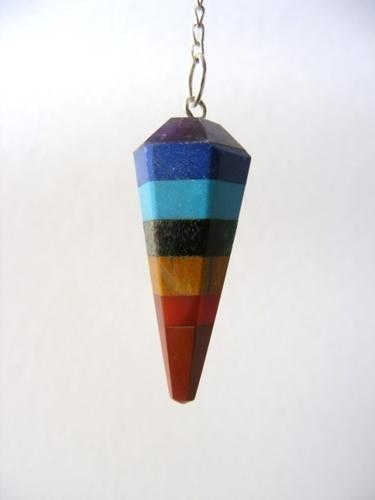 Pendulum with Chakra Stone