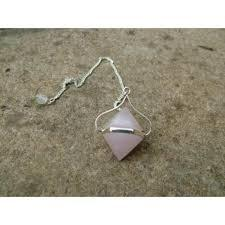 Rose Quartz Double Ended Pendulums
