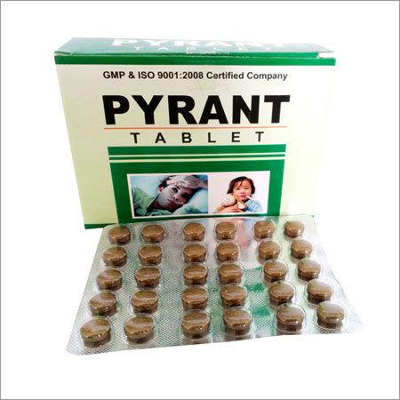 Herbal Tablet For Chronic Fever pyrant