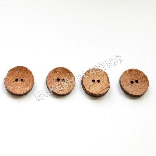 2 Hole Coconut Blank Button