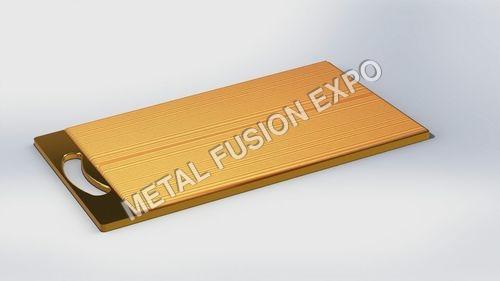 Metallic Cum Wooden Chopping Board