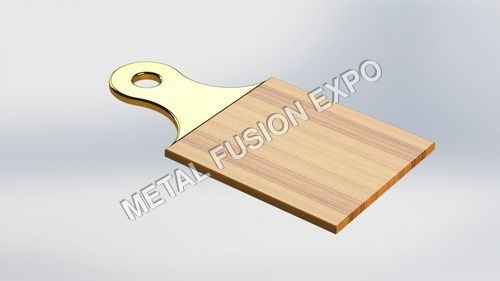 Small Metallic Handed Chopping Board