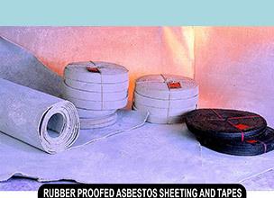 Asbestos Rubberised Tape Non-Metallic