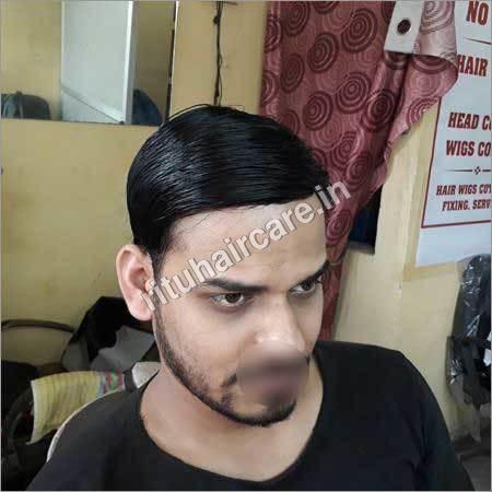 100 % Natural Looking Indian Mens Hair Wigs