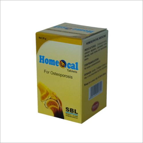 Printed Pharma Tablet Box