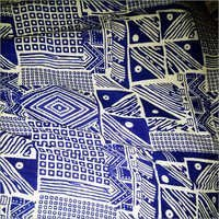 Blue Cotton Material