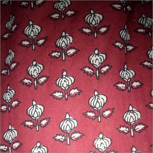 Printed Silk Material