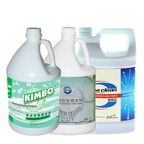 High effective Carpet shampoo-high foam 3.8L/19L