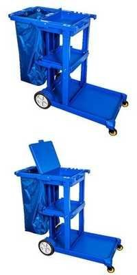 JANITOR CART WIHTOUT COVER /WITH COVER