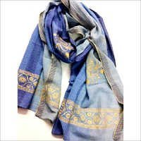 Yarn dye printed cotton Scarf