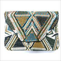 Beaded  Designer Clutch