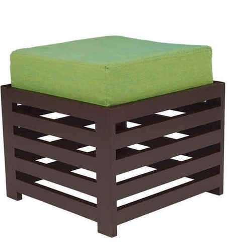 LifeEstyle Bonnie Stool (Green/Walnut)