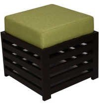 LifeEstyle Bonnie Stool (Dark Green / Ebony)