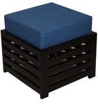 LifeEstyle Bonnie Stool (Blue / Ebony)