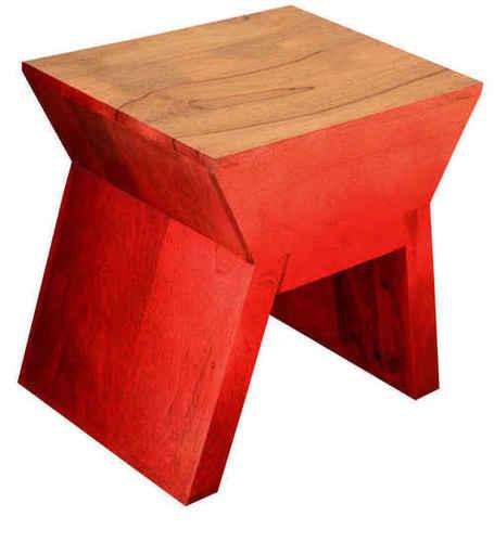 LifeEstyle Benny Stool (Red)