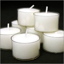 White Color Candle