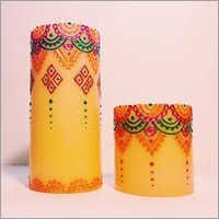 Multicolor Candle