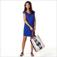 Ladies Blue Dress
