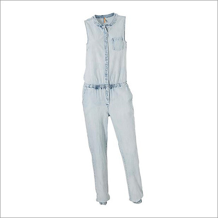 Ladies Non Denim Jumpsuit