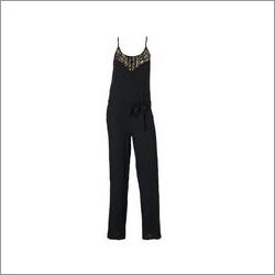 Ladies Black Jumpsuit
