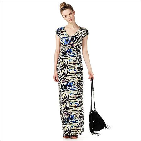 Ladies Digital Print Dress
