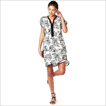 Ladies Designer Shirt Dress