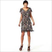 Ladies Designer Print Dress