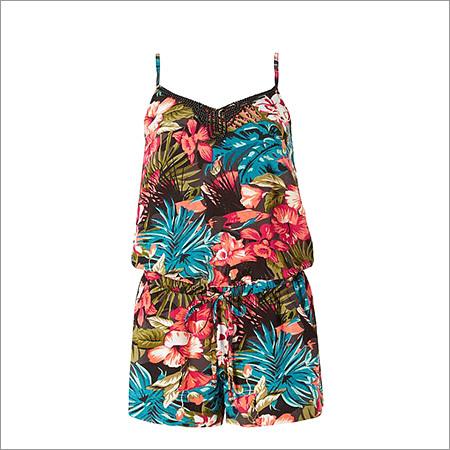 Ladies Digital Print Jumpsuit